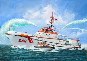 Search & Rescue Vessel HERMANN MARWEDE -  Platinum Edition · RE 05198 ·  Revell · 1:72