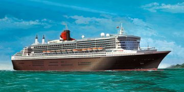 Queen Mary 2 - Platinum Edition · RE 05199 ·  Revell · 1:400
