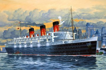 Queen Mary · RE 05203 ·  Revell · 1:570
