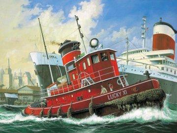 Harbour Tug Boat · RE 05207 ·  Revell · 1:108