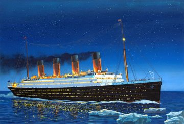RMS Titanic · RE 05210 ·  Revell · 1:700