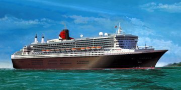 Queen Mary 2 · RE 05223 ·  Revell · 1:400