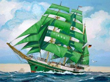 Sail Training Ship Alexander von Humboldt · RE 05400 ·  Revell · 1:150