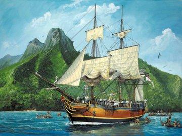 H.M.S. Bounty · RE 05404 ·  Revell · 1:110