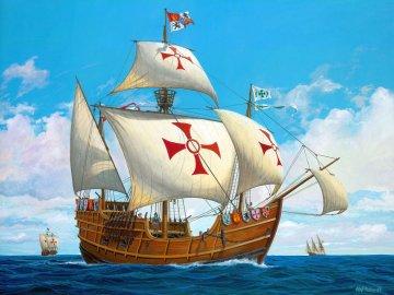 Columbus Ship Santa Maria · RE 05405 ·  Revell · 1:90