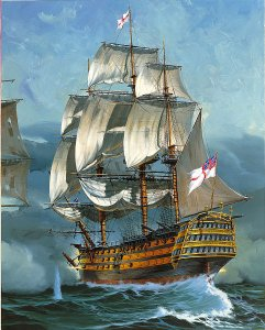 H.M.S. Victory · RE 05408 ·  Revell · 1:225