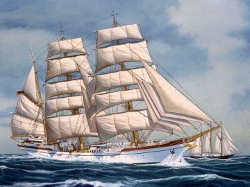 Gorch Fock · RE 05412 ·  Revell · 1:253