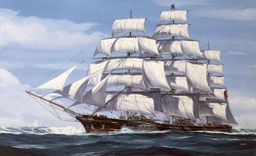 Cutty Sark 150th Anniversary · RE 05430 ·  Revell · 1:220