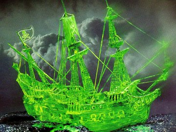Geisterschiff mit Nachtleuchtfarbe · RE 05433 ·  Revell · 1:96