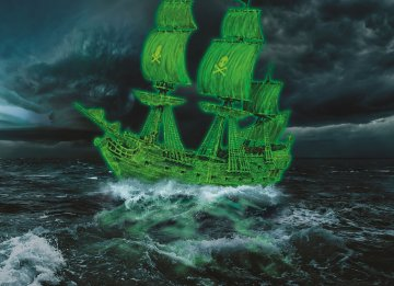 Ghost Ship · RE 05435 ·  Revell · 1:150