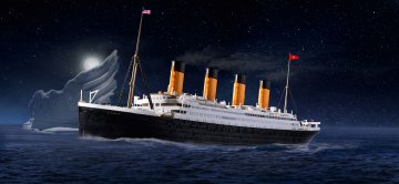 RMS Titanic · RE 05498 ·  Revell · 1:600