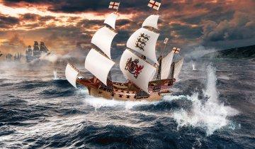 HMS Revenge - Easy Click · RE 05661 ·  Revell · 1:350