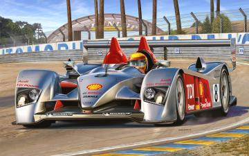 Audi R10 TDI Le Mans + 3D Puzzle · RE 05682 ·  Revell · 1:24