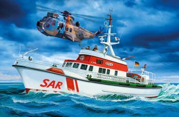 DGzRS Berlin + Sea King - Good Bye · RE 05683 ·  Revell · 1:72