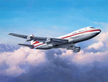 Boeing 747-100, 50th Anniversary · RE 05686 ·  Revell · 1:144