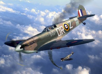 Spitfire Mk.II - Aces High - Iron Maiden · RE 05688 ·  Revell · 1:32