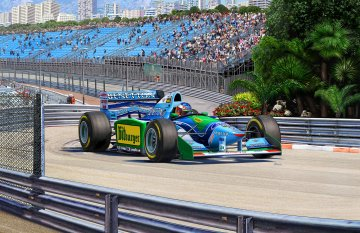 25th Anniversary - Benetton Ford · RE 05689 ·  Revell · 1:24