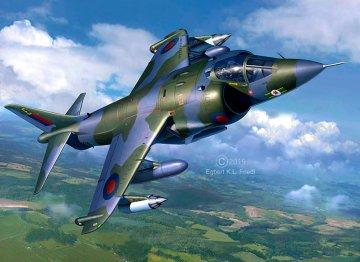 Hawker Harrier GR Mk.1 · RE 05690 ·  Revell · 1:32