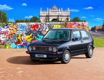 35 Years VW Golf 1 GTI Pirel · RE 05694 ·  Revell · 1:24