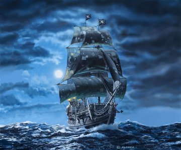 Black Pearl - Limited Edition · RE 05699 ·  Revell · 1:72