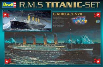 R.M.S. Titanic - Geschenk-Set · RE 05705 ·  Revell · 1:570