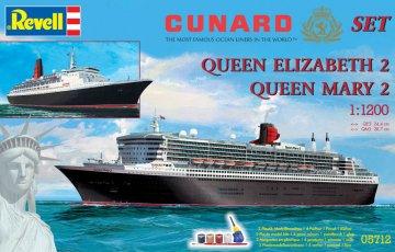 Geschenkset Cunard Line · RE 05712 ·  Revell · 1:1250