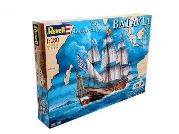 VOC Retourship BATAVIA Set · RE 05728 ·  Revell · 1:150