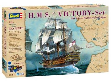 Geschenkset H.M.S. Victory · RE 05758 ·  Revell · 1:225