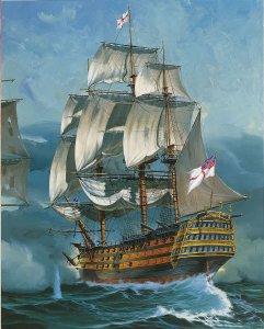 Geschenkset Battle of Trafalgar · RE 05767 ·  Revell · 1:225