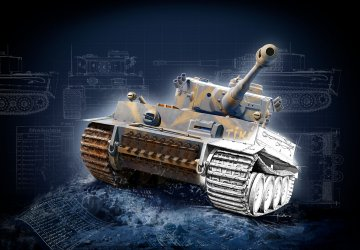 Geschenkset 75 Jahre Tiger I · RE 05790 ·  Revell · 1:35