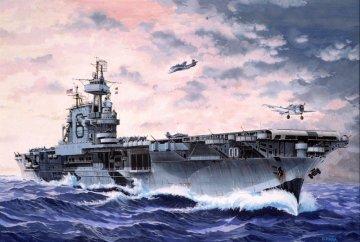 U.S.S. Enterprise WWII · RE 05801 ·  Revell · 1:1200