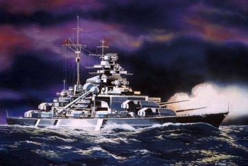 Bismarck · RE 05802 ·  Revell · 1:1200
