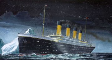RMS Titanic · RE 05804 ·  Revell · 1:1200