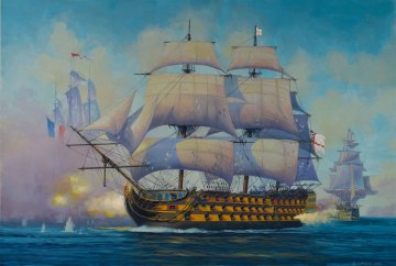 Admiral Nelson Flagship (HMS Victory) · RE 05819 ·  Revell · 1:450