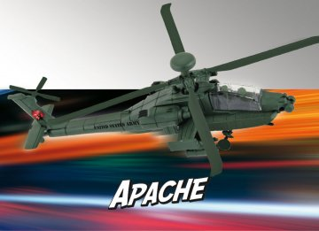 AH-64 Apache - Build & Play · RE 06453 ·  Revell · 1:100