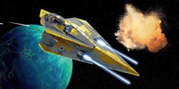 Anakins Jedi Starfighter (Clone Wars) · RE 06665 ·  Revell