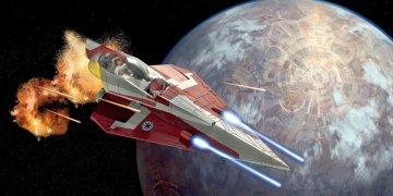 Obi-Wans Jedi Starfighter (Clone Wars) · RE 06666 ·  Revell