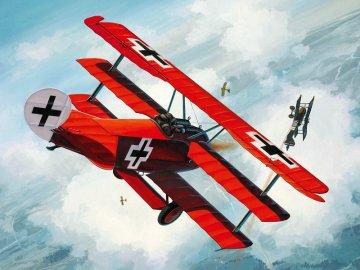 Fokker DR. 1 MiniKit · RE 06702 ·  Revell