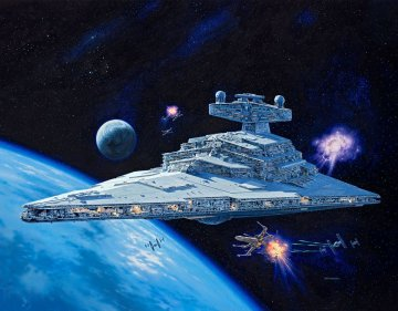 Imperial Star Destroyer · RE 06719 ·  Revell · 1:2700