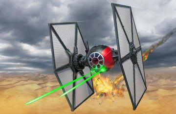 Special Forces TIE Fighter · RE 06745 ·  Revell · 1:35