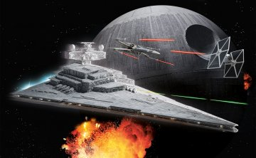 Imperial Star Destroyer · RE 06749 ·  Revell · 1:4000
