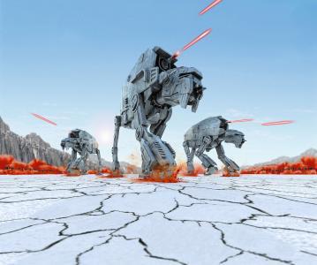 First Order Heavy Assault Walker · RE 06772 ·  Revell · 1:164