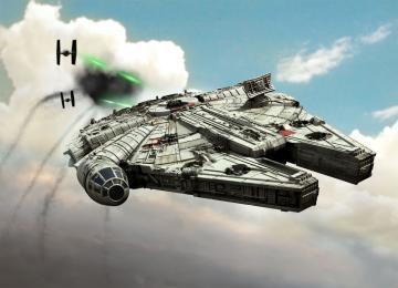 Millennium Falcon · RE 06778 ·  Revell · 1:164