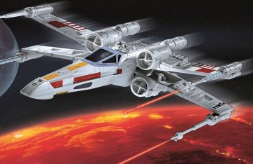 X-wing Fighter · RE 06779 ·  Revell · 1:56