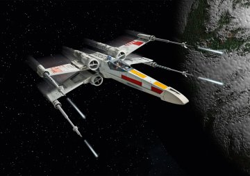 X-Wing Fighter - Easy Click · RE 06890 ·  Revell · 1:29