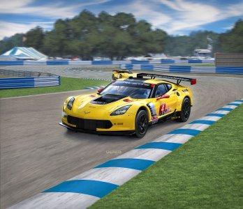 Corvette C7R · RE 07036 ·  Revell · 1:25