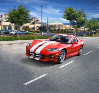 Dodge Viper GTS · RE 07040 ·  Revell · 1:25