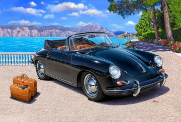 Porsche 356 Cabriolet · RE 07043 ·  Revell · 1:16
