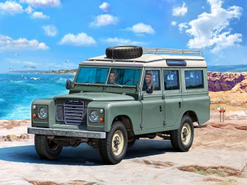 Land Rover Series III · RE 07047 ·  Revell · 1:24
