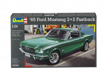 1965 Ford Mustang 2+2 Fastback · RE 07065 ·  Revell · 1:25